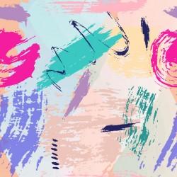 Stickers carrelage trace de peinture