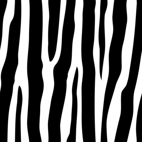 Stickers carrelage blanc et noir
