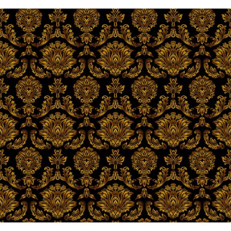 Stickers carrelage floral
