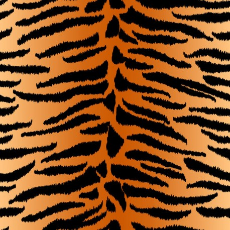 Stickers carrelage animal tigre