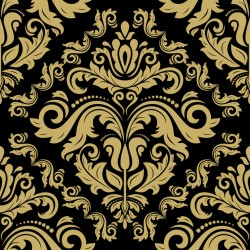 Stickers carrelage baroque