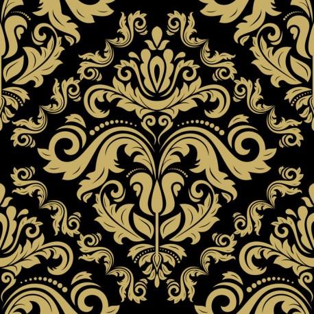 Stickers carrelage baroque