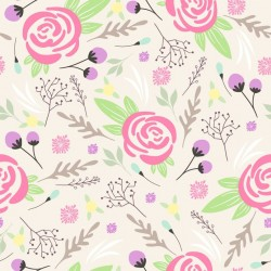 Stickers carrelage rose