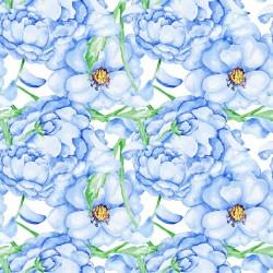 Stickers carrelage bleu clair