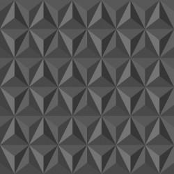 Stickers carrelage gris foncé