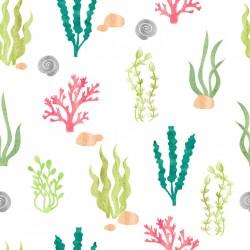Stickers carrelage algue