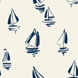 Stickers carrelage bateau