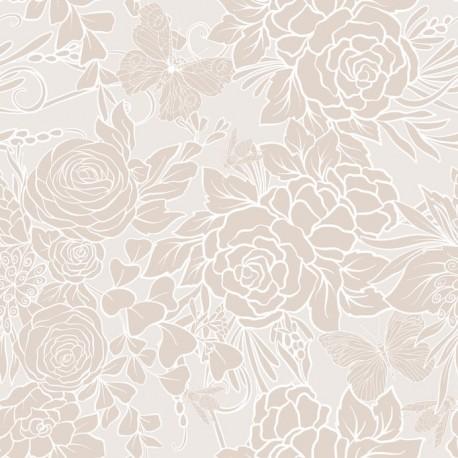 Stickers carrelage beige