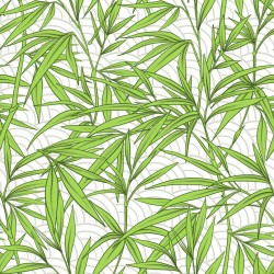 Stickers carrelage feuille de bambou