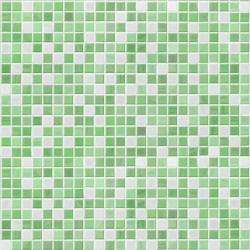 Stickers carrelage vert pomme