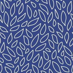 Stickers carrelage bleu marine