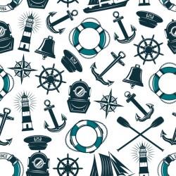 Stickers carrelage accessoire nautique