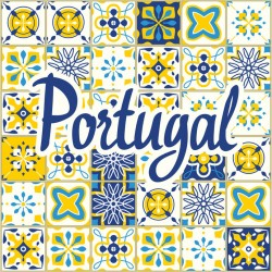 Stickers carrelage ciment Portugal