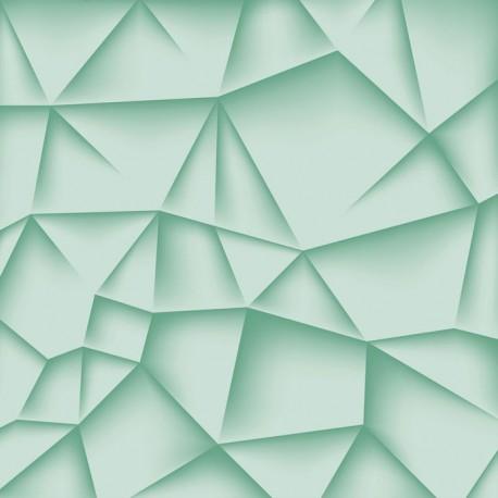 Stickers carrelage vert opaline