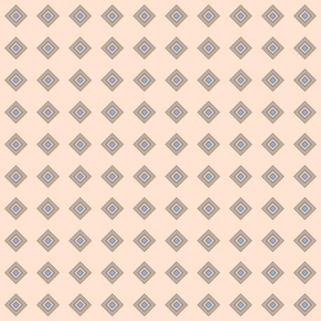 Stickers carrelage losange