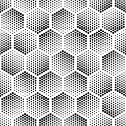 Stickers carrelage hexagone