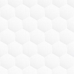 Stickers carrelage hexagone blanc