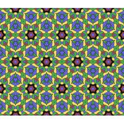 Stickers carrelage vert