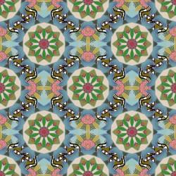 Stickers carrelage coloré
