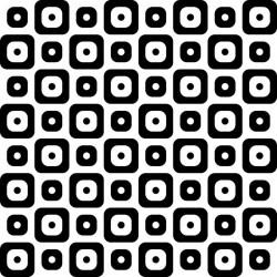 Stickers carrelage noir et blanc